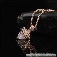 VAGULA Mask Design Zircon Necklace (Hln16352)