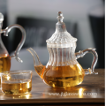 600ml borosilicate pyrex turkish glass teapot