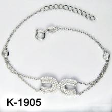 Bijoux de mode Silver Micro Pave CZ Setting (K-1905. JPG7)
