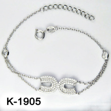 Мода Silver Micro Pave CZ Настройка ювелирных изделий (K-1905. JPG7)