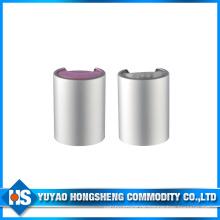 Seal Kunststoffende Aluminium Disc Top Cap für Flaschen