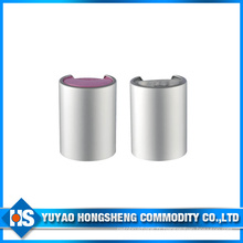 Sliver Aluminium Cosmetic Disc Top Cap