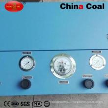 Pompe de remplissage d'oxygène respirateur de groupe de charbon de la Chine