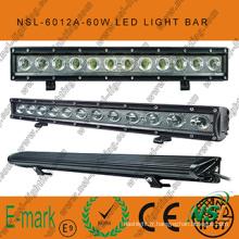 2016! ! Barre lumineuse LED de voiture de 20 pouces 60W/lumière de conduite LED, barre lumineuse LED 12V 24V