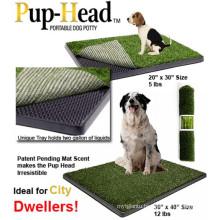 The Indoor Pup-Head Portable Pet Potty Dog Toilet