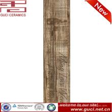 Impresión personalizada azulejo de la sala de estar del precio del azulejo de piso de madera