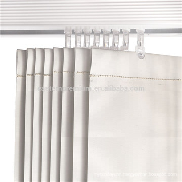 Vertical blind parts 127mm pvc bottom weight aluminum head track