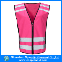 Reflective Clothing Wholesale Safety Pink Work Multi Pocket Vest