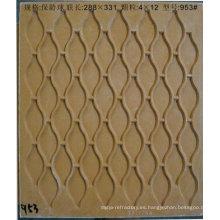 molde de resina de fibra para mosaico de vidrio