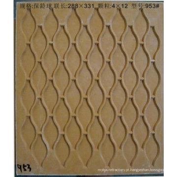 molde de resina de fibra para mosaico de vidro