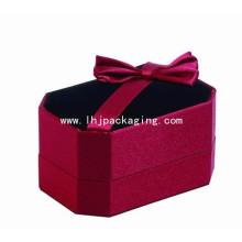 Regalo de alta calidad de embalaje caja de joyería de terciopelo