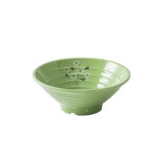 Custom high quality melamine tableware classic  soup plates noodle bowl