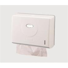 Tenedor de papel plástico montado en la pared al por mayor público decorativo de lujo blanco de la toalla de papel de la cocina