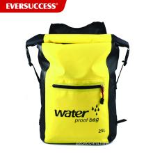 25L Waterproof Dry Bag Backpack Pocket Shoulder Strap Dry Compression Sack Gear Dry for Water Sports Outdoor Adventures Travel
