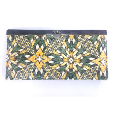 Cool summer national wallet made in PU leather