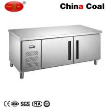 Industrie-Edelstahl-Zähler-Gefriermaschine-Kühlschrank