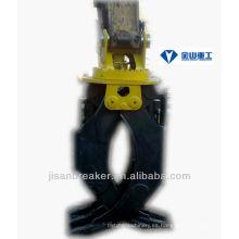 La grapa hidráulica SUMITOMO S120, el accesorio para excavadora, la grapa para madera