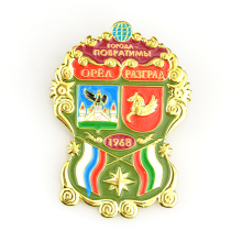 Soft enamel metal festival lapel pins