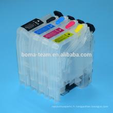 LC133 LC135 Cartouche D'encre Rechargeable pour Brother MFC-J4410DW J4510DW J4710DW J6920DW J6520DW J6720DW J470DW J870 Imprimante