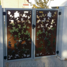 Metal Gate for Privacy Fence