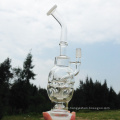 War Ghost Mask Design Glass pipe Water Pipes Tool (ES-GB-256)