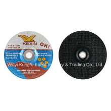 "7"" Carbide Aluminum Oxide Depressed Center Grinding Wheel"