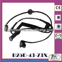 Veículo excelente sensor de velocidade de roda automática para Mazda 3, 323, Premacy B25D-43-73X