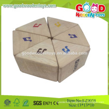 2015Wood Sound And Weight Prism Blocks Instrument Wooden Music Set
