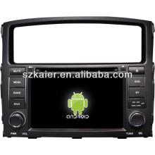 Système multimédia central voiture Android pour Mitsubishi Pajero / Montero avec GPS / Bluetooth / TV / 3G / WIFI