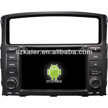 Multimídia central do carro do sistema Android para Mitsubishi Pajero / Montero com GPS / Bluetooth / TV / 3G / WIFI