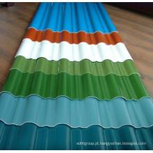 Bobina de aço laminada a frio revestida a cores