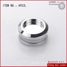 Fabricado en China oculta manija de aluminio / perilla para puerta corredera de cristal