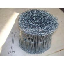 Fil de cravate de sac en métal enduit en plastique d'animal familier