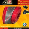 Revêtement rouge antirouille frein frein antirouille