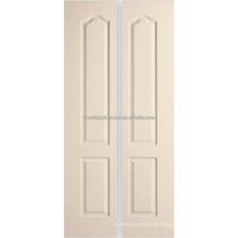2 Panel Archtop geformt innen Bifold Türen