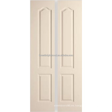 2 Archtop panel moldeado bifolding puertas