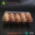 Transparente Blister Plastik Eierablage