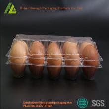 Cartones de plástico de PVC / PET transparentes personalizados
