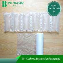 site e-commerce utiliser sac de bulle d'air matière PEHD