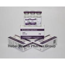 Sclerodex-Injektion zur Behandlung von Krampfadern und Dextrose USP und Natriumchlorid USP