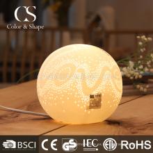 Lámpara de mesa moderna romántica respetuosa del medio ambiente del dormitorio tamaño pequeño
