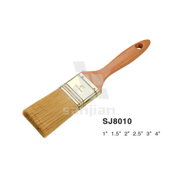 Brosses de peinture en bois de hêtre Sj8010 de vente chaude