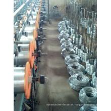 Alambre de hierro Galvanzied / alambre galvanizado caliente