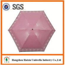 Neueste Design EVA Material Spitze Sonnenschirm Regenschirm
