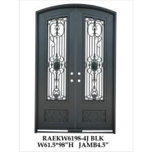 Fancy handmade Wrought Iron Double Doors