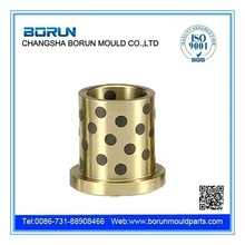 Flange oilless bronze graphite bush
