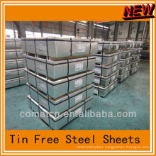 TFS for crown corks, TFS sheets, china plant