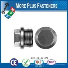 Fabriqué en Taiwan DIN 910 Hexagon Head Pipe Plugs