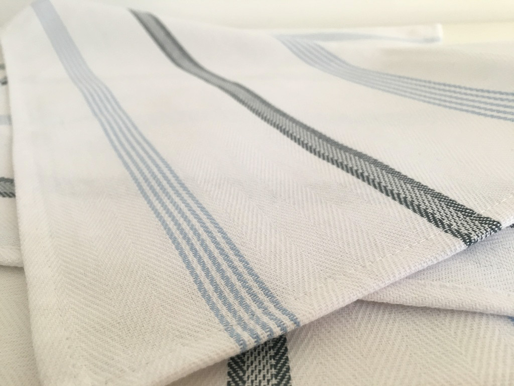 herringbone huck cloth