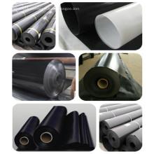 Geomembrana de material de PVC de 0.5-2 mm para proyecto de vertedero